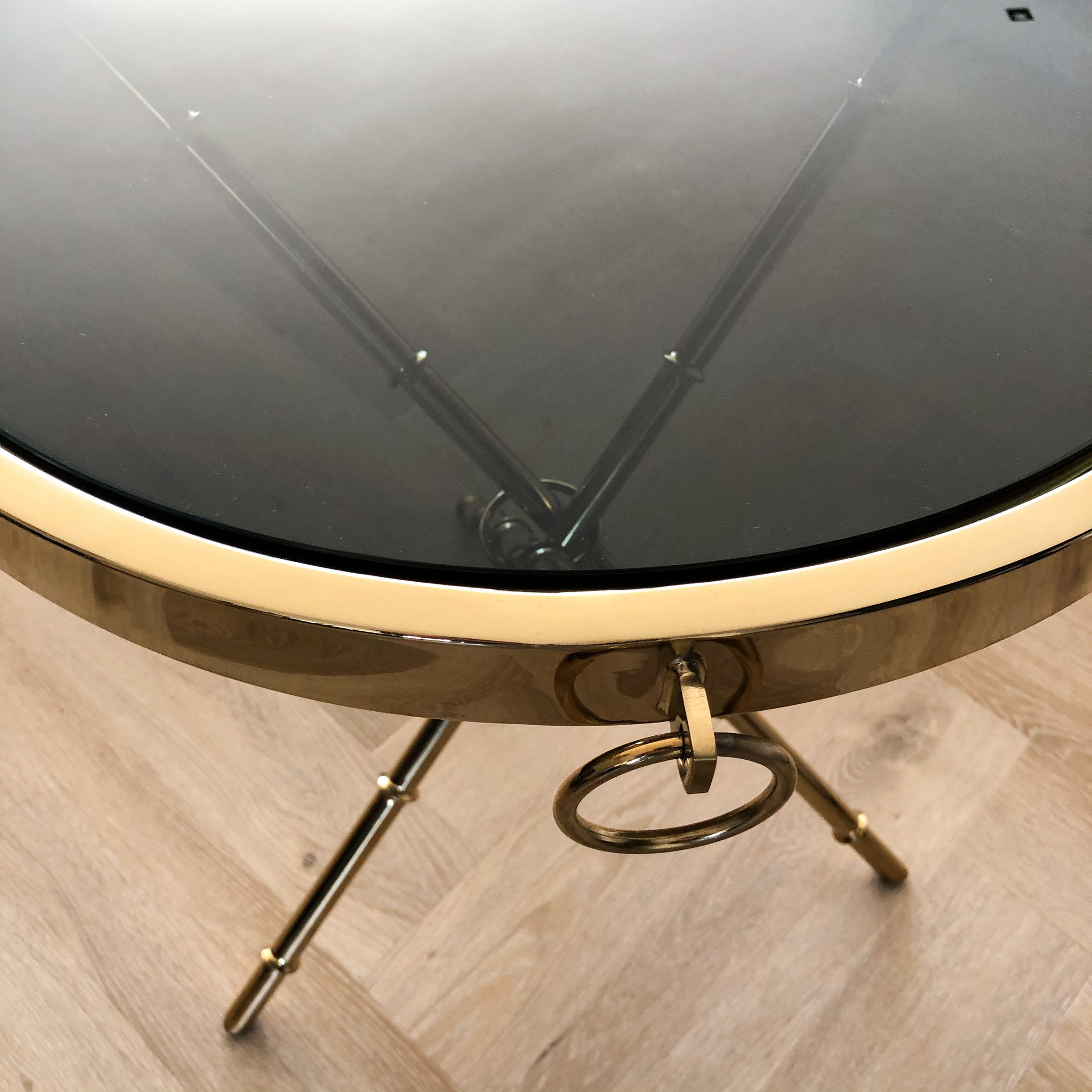 Design Side Table Musa Gold-4