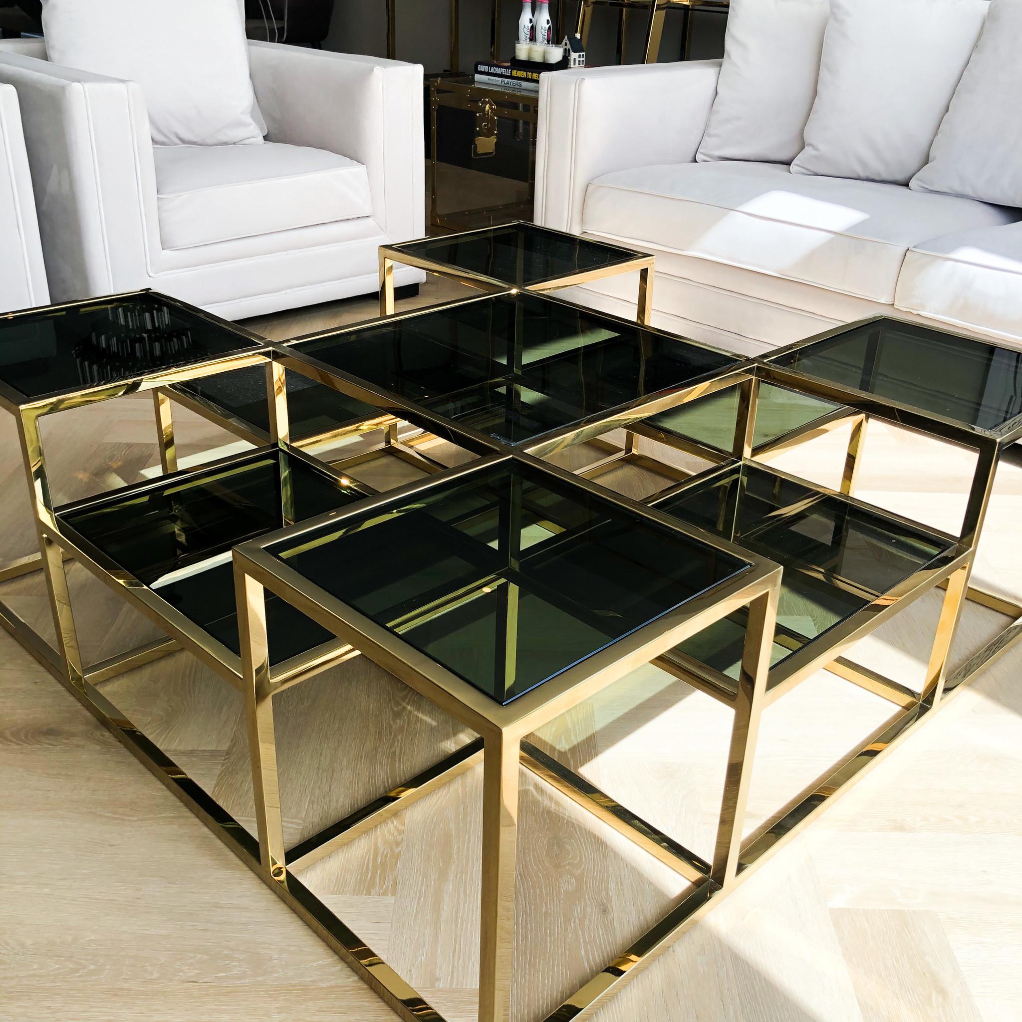 Design Coffee Table Astoria Gold-5