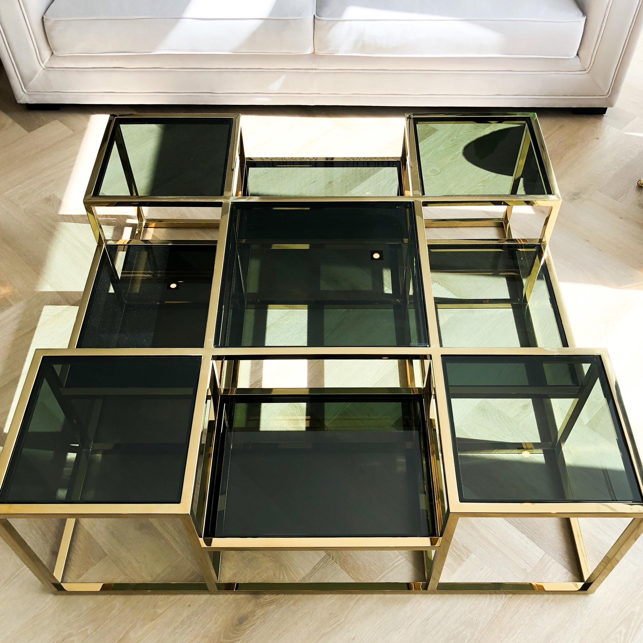 Design Coffee Table Astoria Gold-6