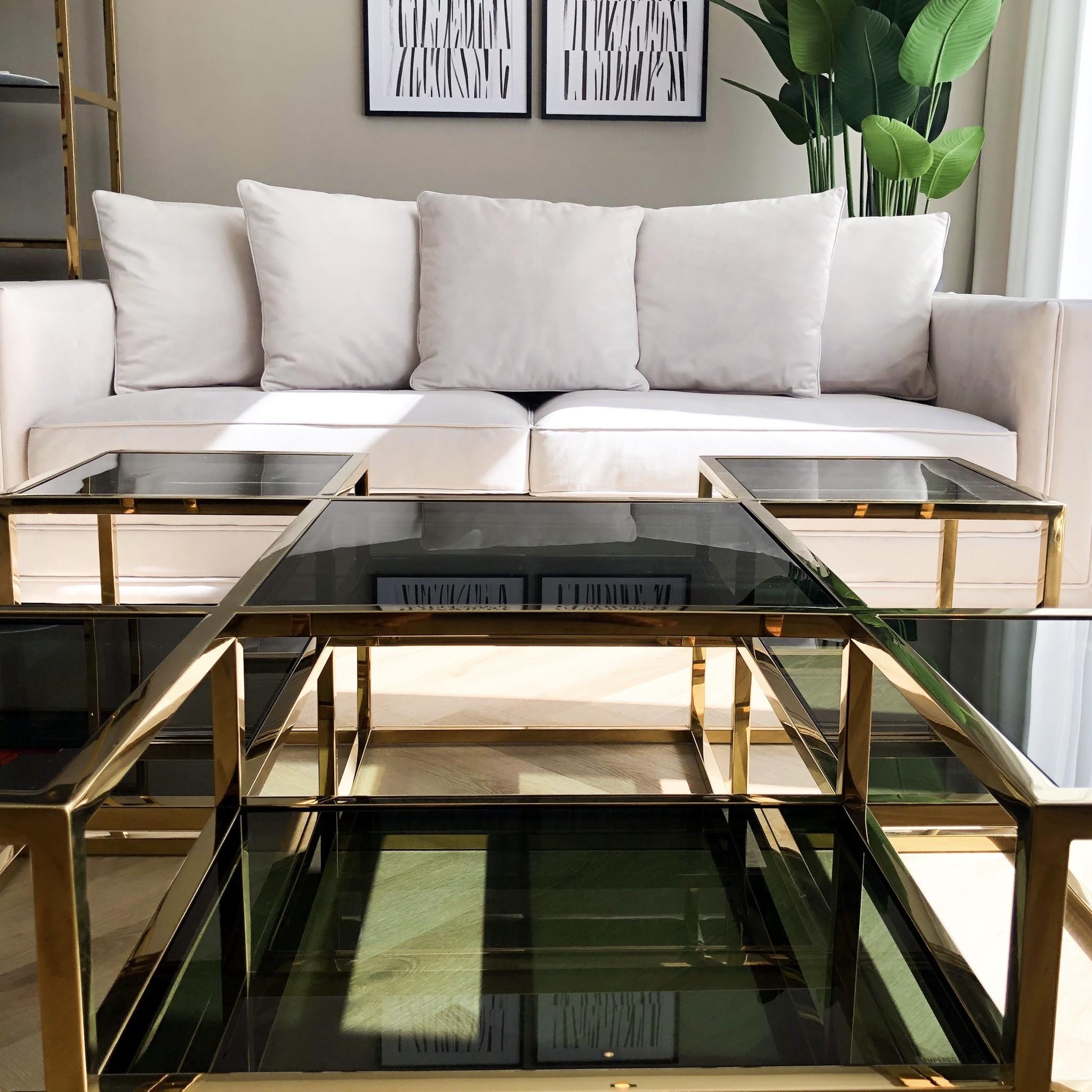 Design Coffee Table Astoria Gold-3