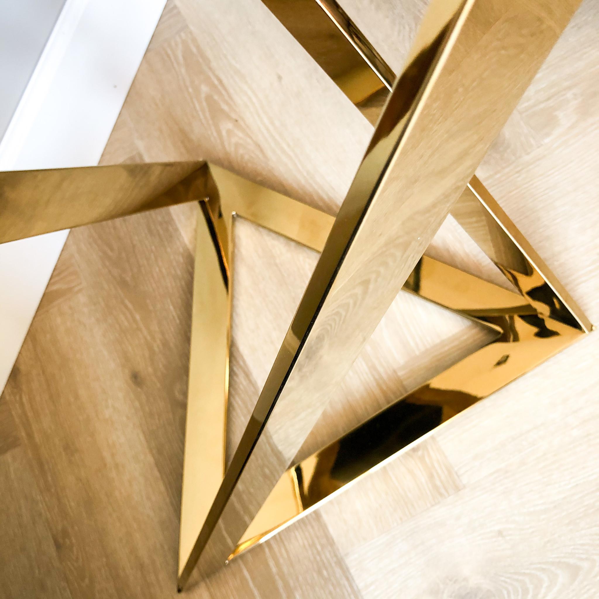 Design Side Table Divani Gold-4