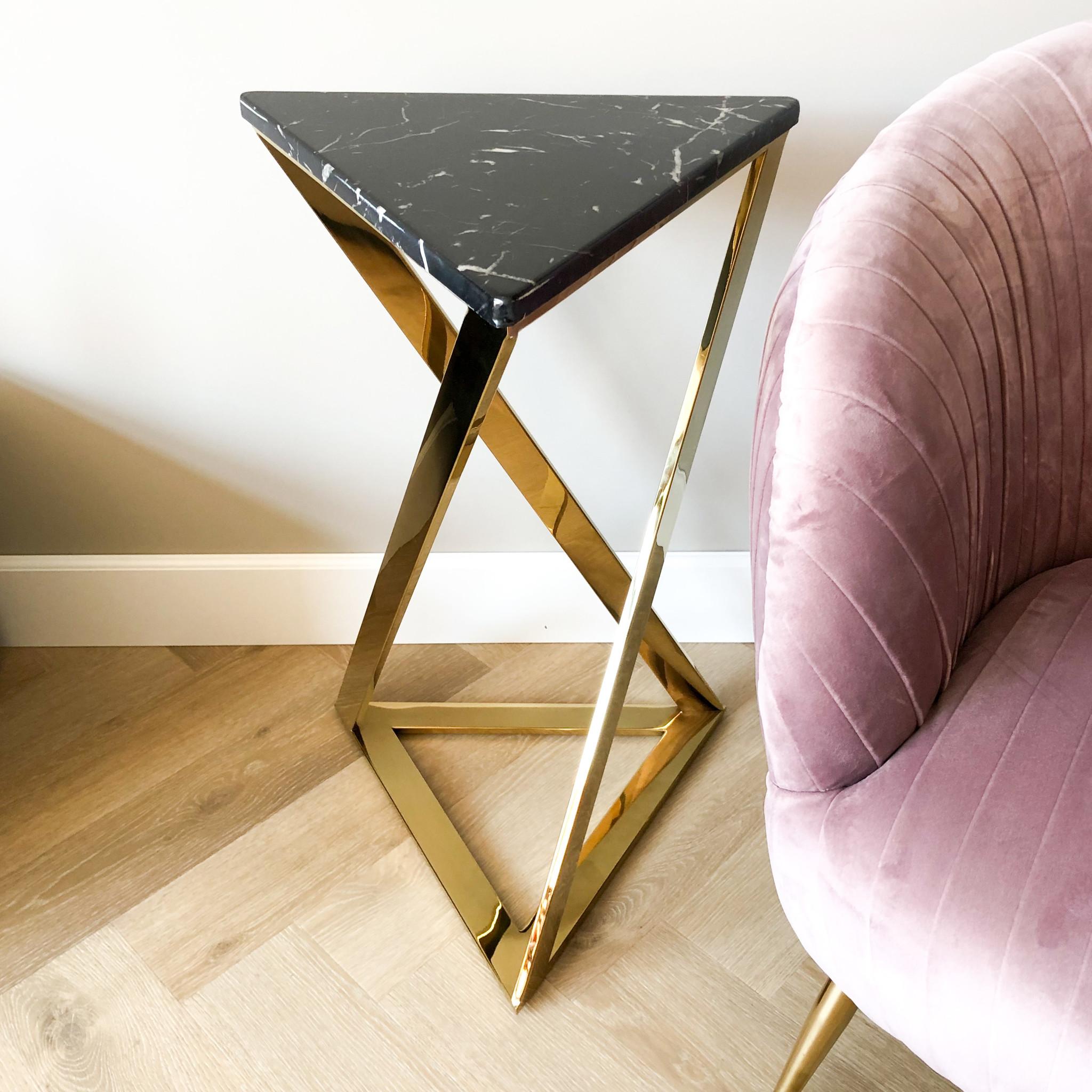 Design Side Table Divani Gold-2
