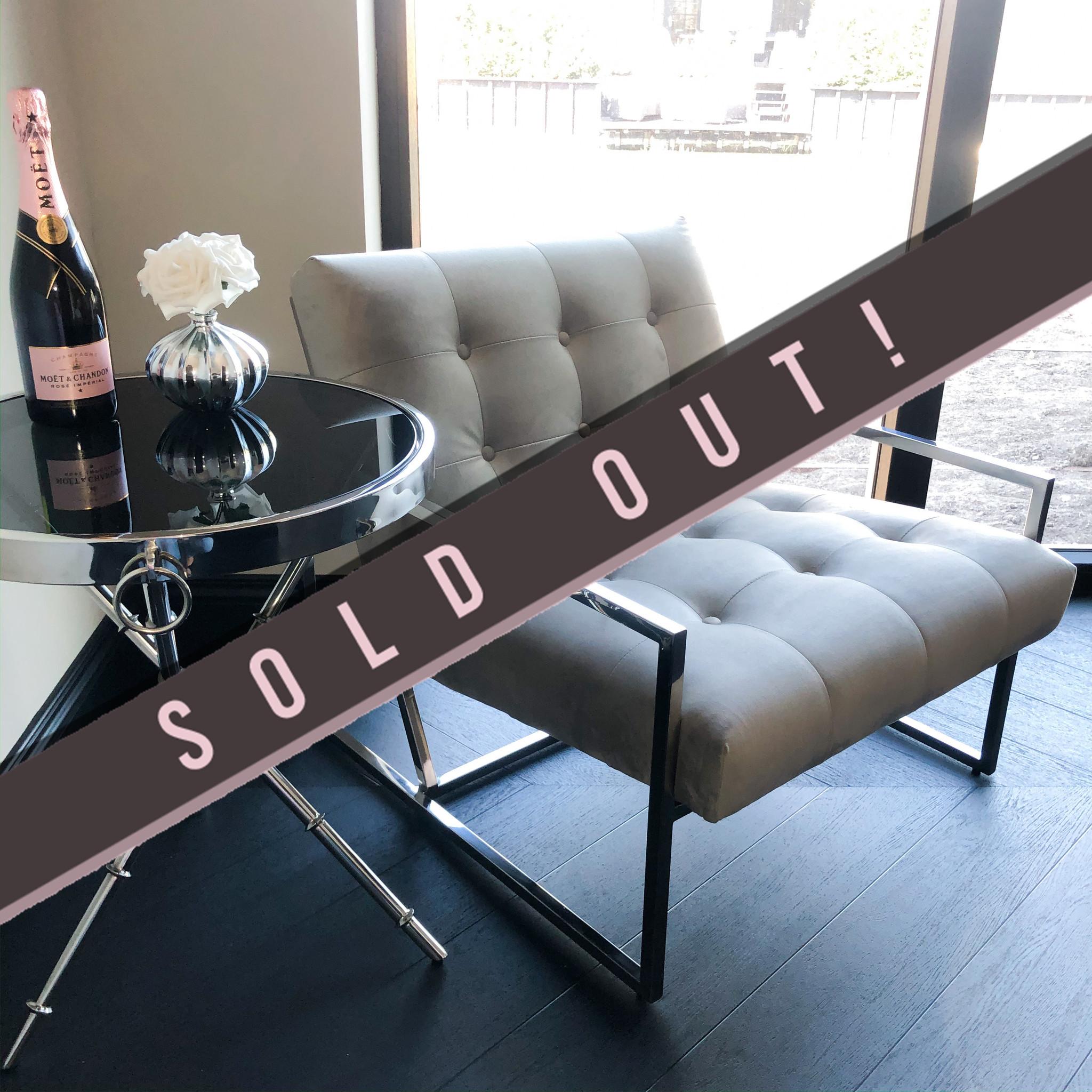 Luxurious Chair Mahora Dark Grey Velvet-1