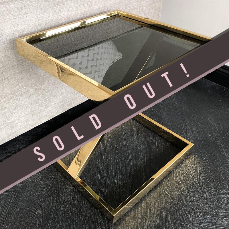 Design Side Table Sala Gold-1