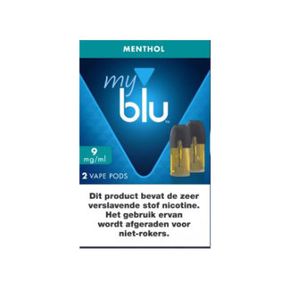 Blu Menthol POD's