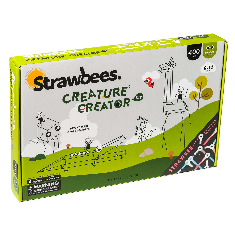 Strawbees Strawbees Creature Creator Kit met Quirkbot