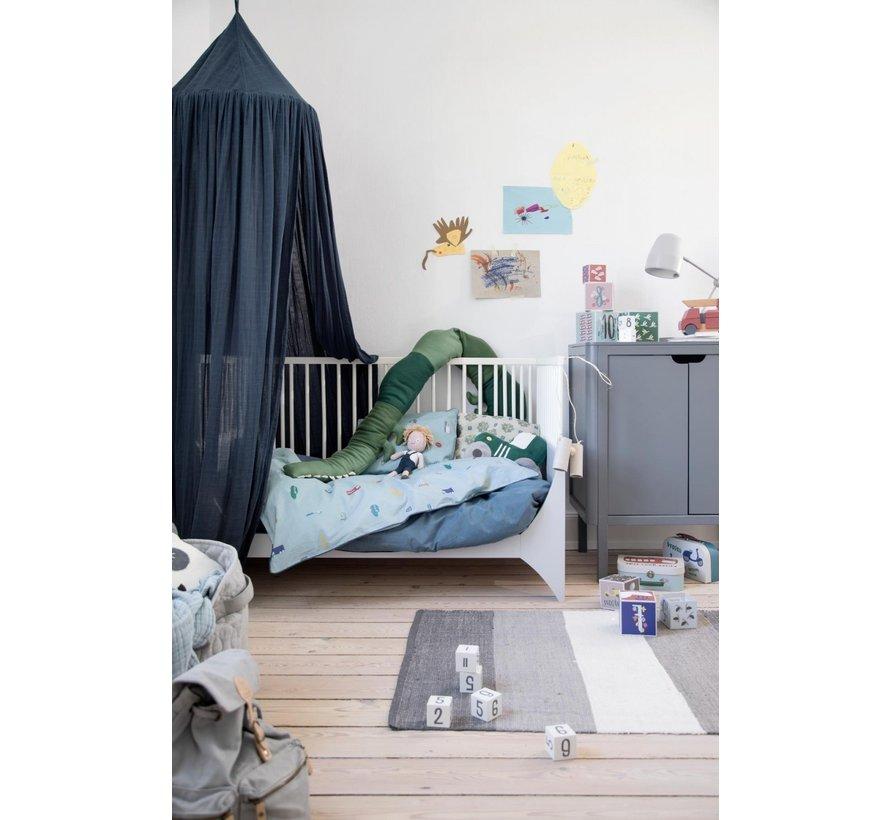 Sebra Klamboe / Hemeltje Konings Blauw