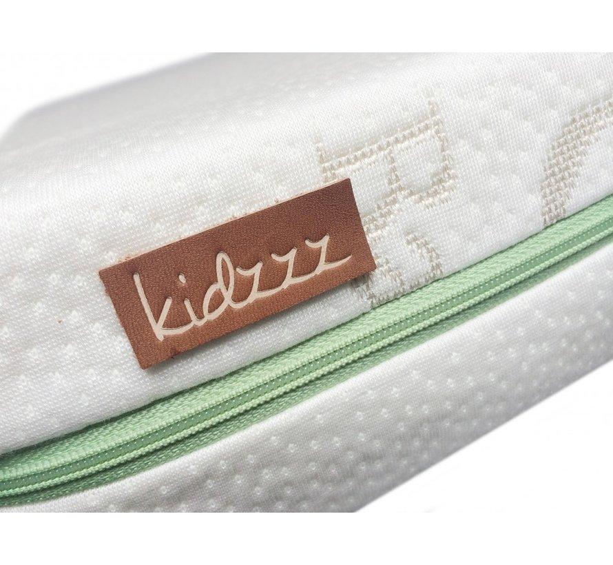 Kidzzz Kindermatras Pocketveren op maat v.a. 80 (tot 100)  x 160 cm
