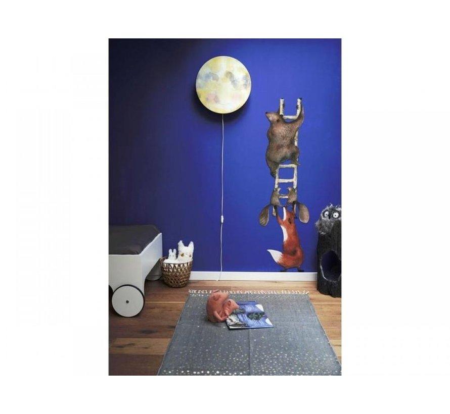 Hartendief Wandlamp - Maankus