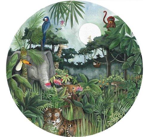Hartendief Regenwoud Behang