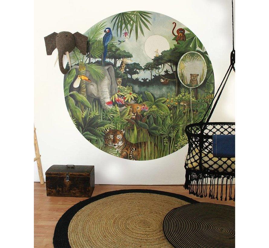 Regenwoud Behang