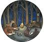 Dieren in het Bos behang