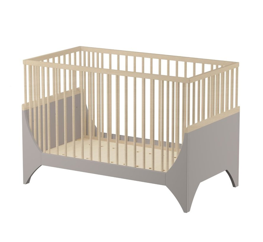 Sebra Yomi Baby Ledikant - Aarde bruin