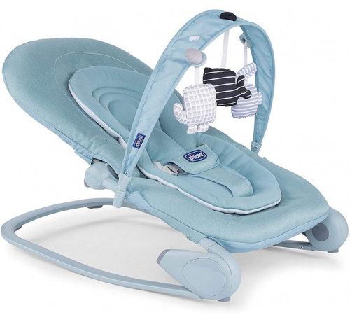 Chicco wipstoel Hoopla aluminium/polyester blauw
