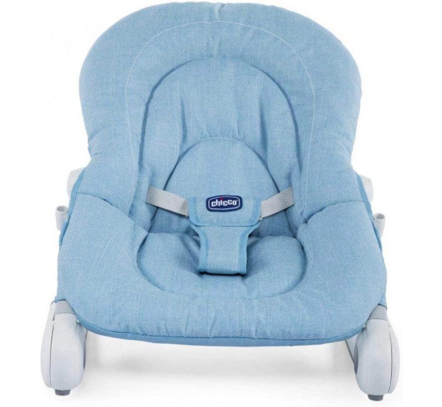 ligstoel jongens 62 x 60 cm textiel blauw 3-delig