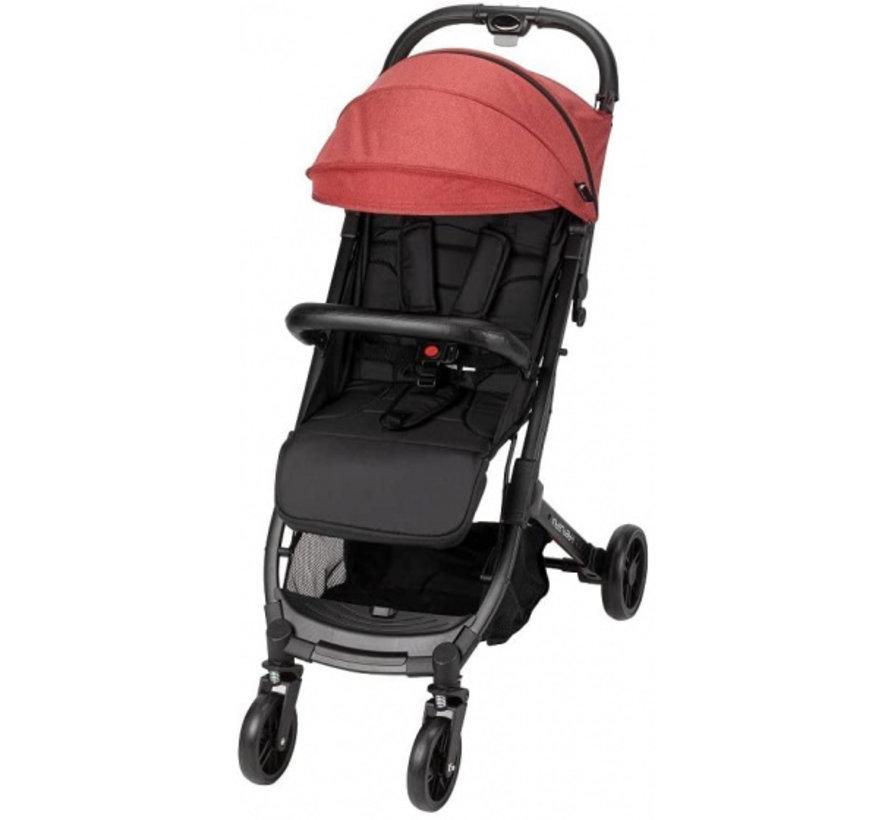 kinderwagen Silla 84 x 99 x 51 cm polyester zwart/rood