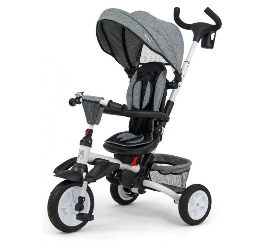 buggy/driewieler Stanley 109 cm polyester grijs/zwart