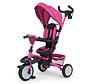 buggy/driewieler Stanley 109 cm polyester roze/zwart