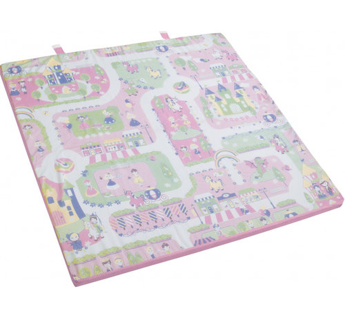 Roba speelkleed Princess meisjes 120 x 120 x 4 cm roze 2-delig