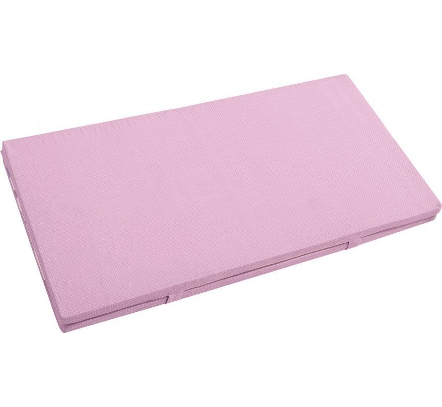 speelkleed Princess meisjes 120 x 120 x 4 cm roze 2-delig