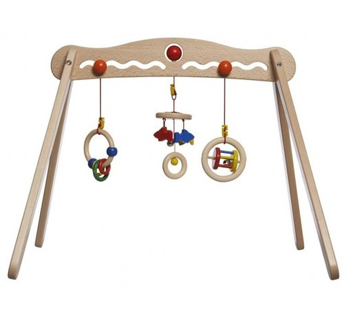 Walter babygym Trainer hout