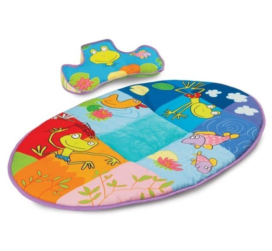 speelkleed Pond Mat and Pillow junior 100 cm 3-delig
