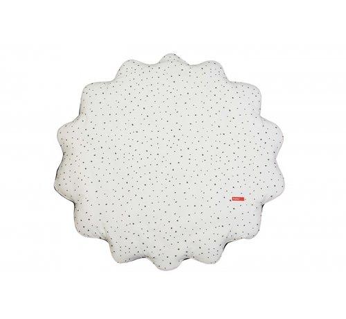 Pericles speelkleed Spots diameter 78 cm wit/zwart