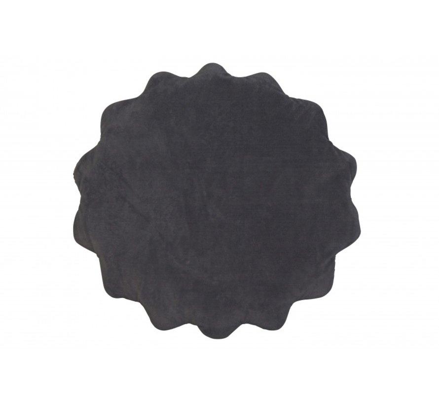 speelkleed Spots diameter 78 cm wit/zwart