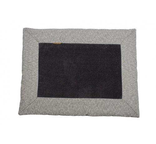 Pericles speelkleed Nero konijn 93 x 72 cm grijs/zwart