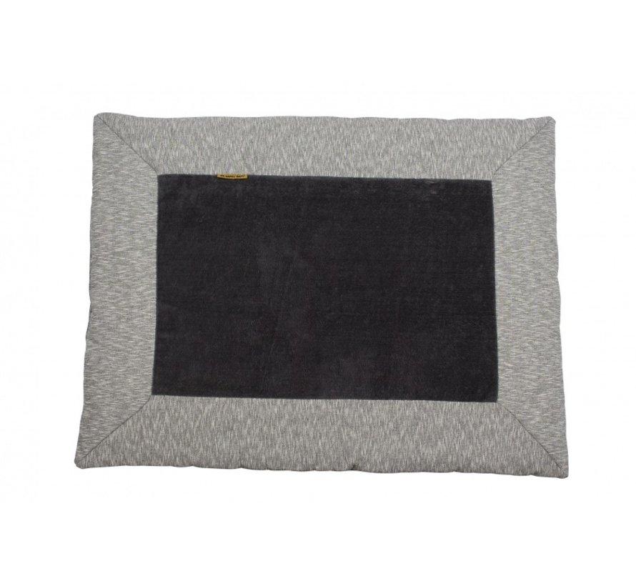 speelkleed Nero konijn 93 x 72 cm grijs/zwart