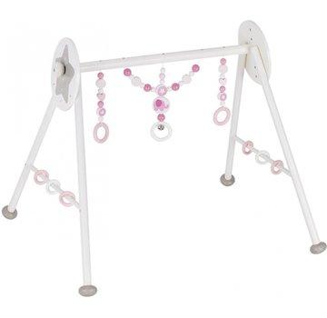 Heimess baby-gym Olifant 63 x 55 x 53 cm wit/roze