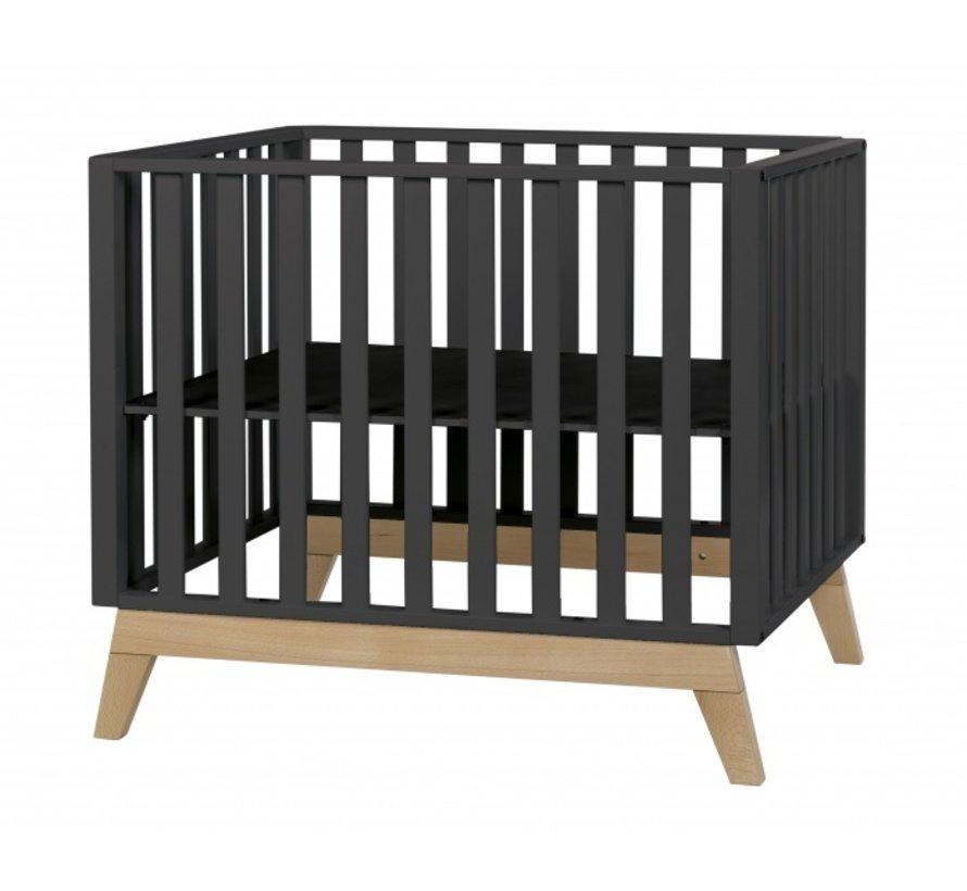 babybox Malmo 98 x 78 cm zwart
