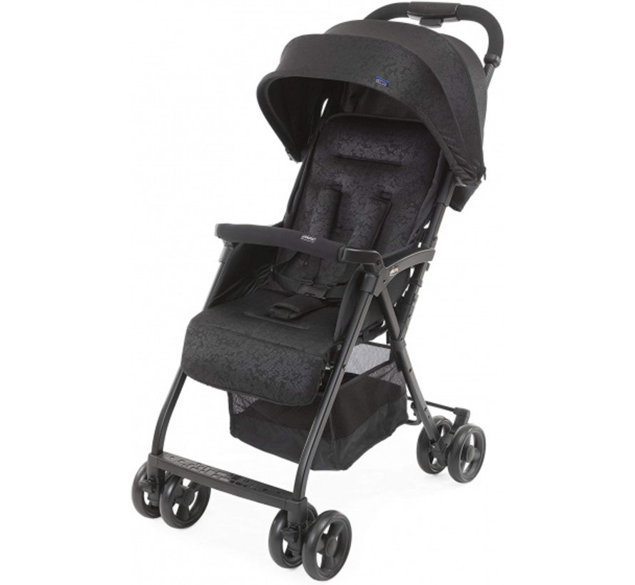 buggy Ohlala-3 101 cm polyester/aluminium zwart