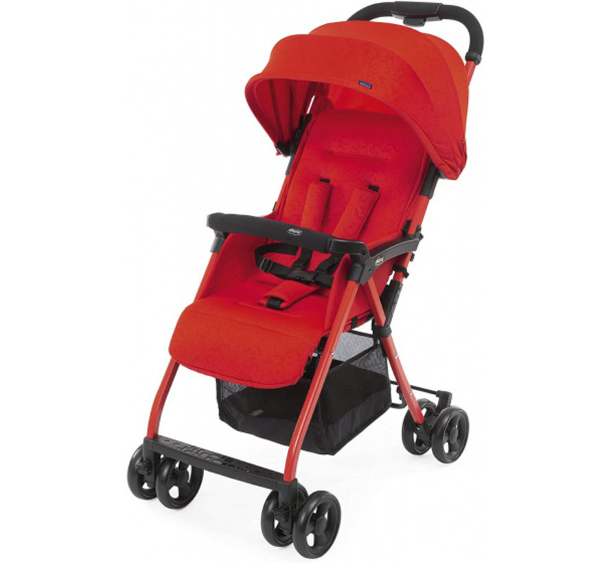 buggy Ohlala-3 101 cm polyester/aluminium rood