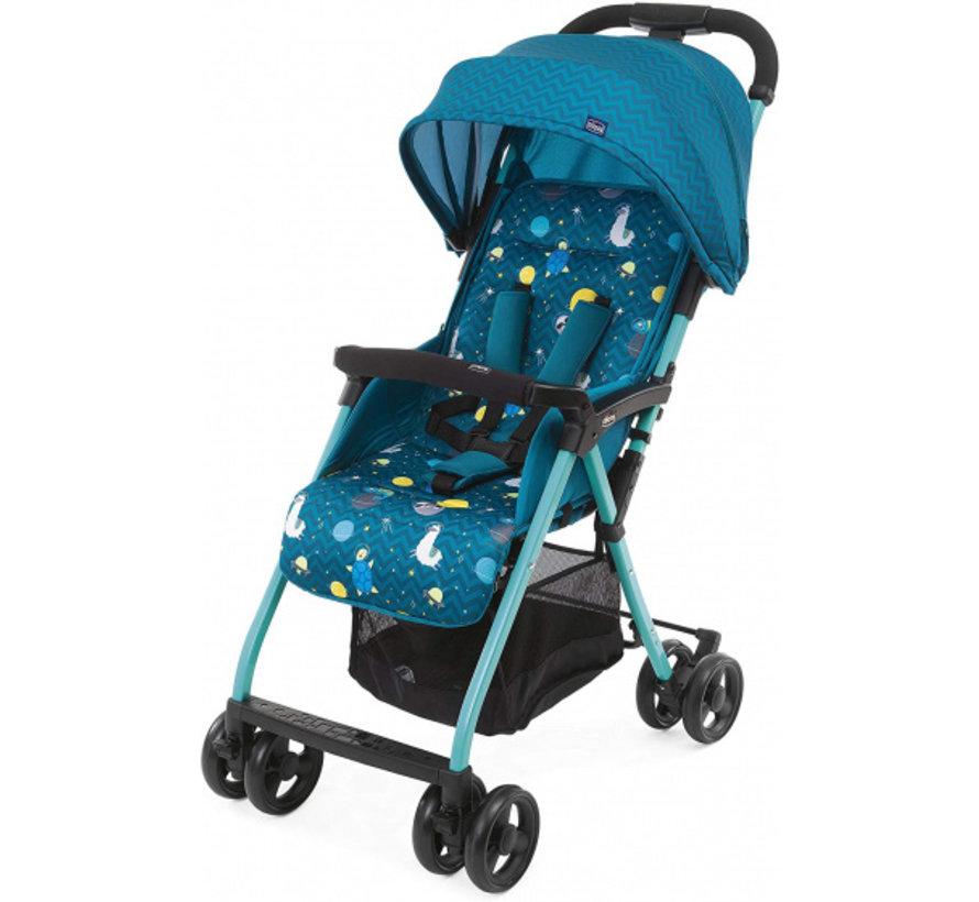 buggy Ohlala-3 Space 101 cm polyester/aluminium blauw