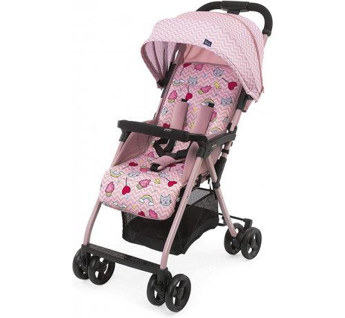 Chicco buggy Ohlala-3 Candy 101 cm polyester/aluminium roze