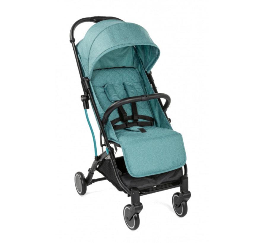buggy TrolleyMe 101 cm alu/polyester zwart/groen