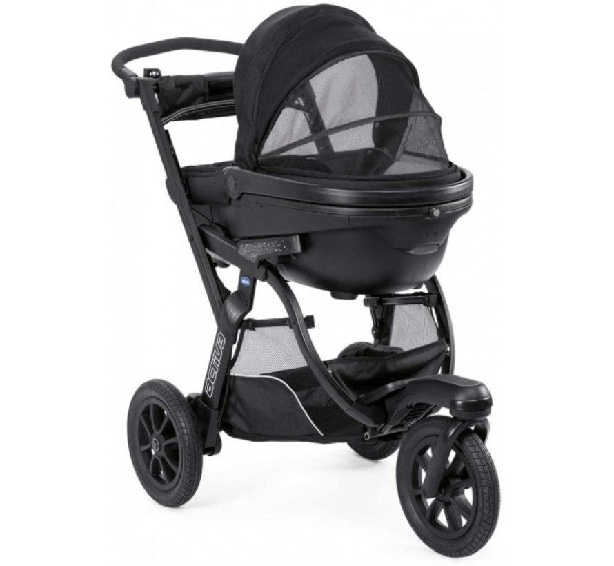 kinderwagen 3-in-1 Activ3 Top polyester zwart 12-delig