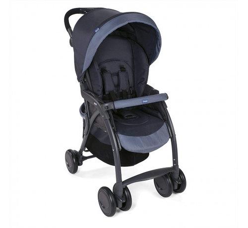 Chicco buggy Simplicity Top 102 cm polyester/aluminium zwart