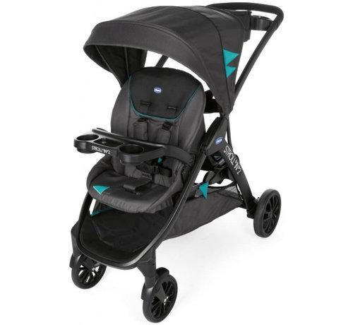 Chicco buggy Stroll'In-2 junior 104 cm polyester/aluminium zwart