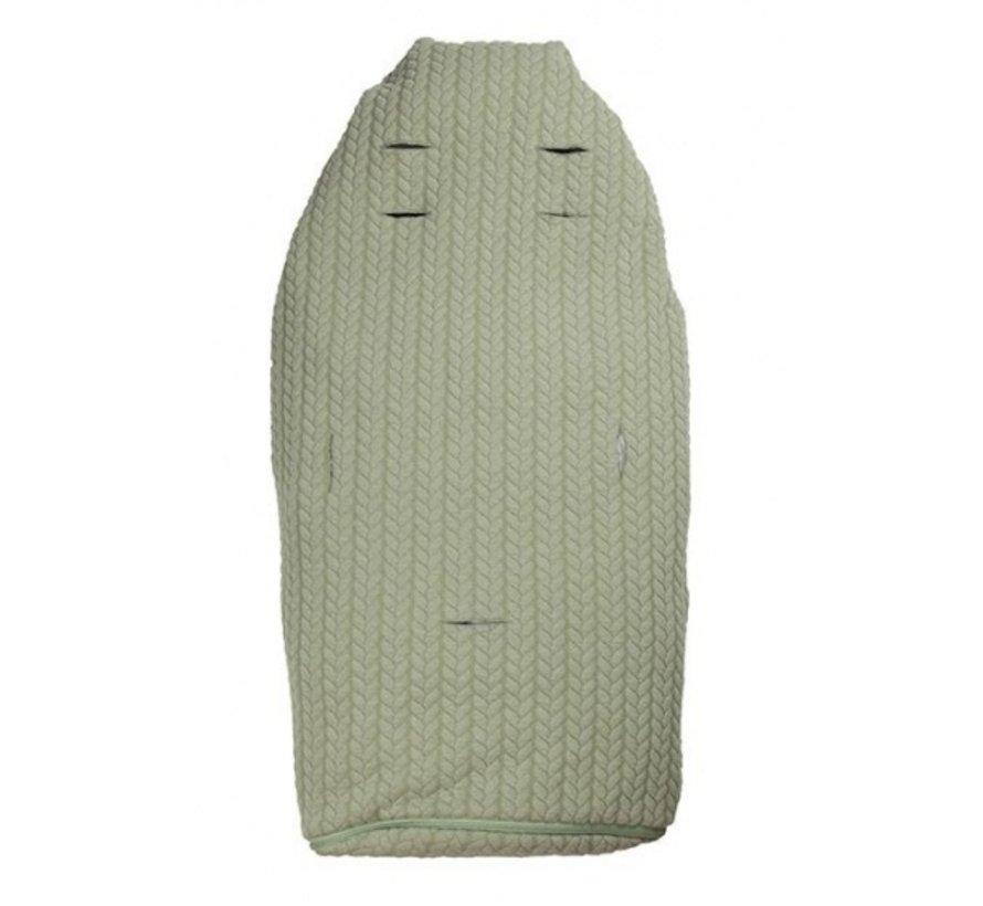 Lite+ voetenzak groen 98-115 cm