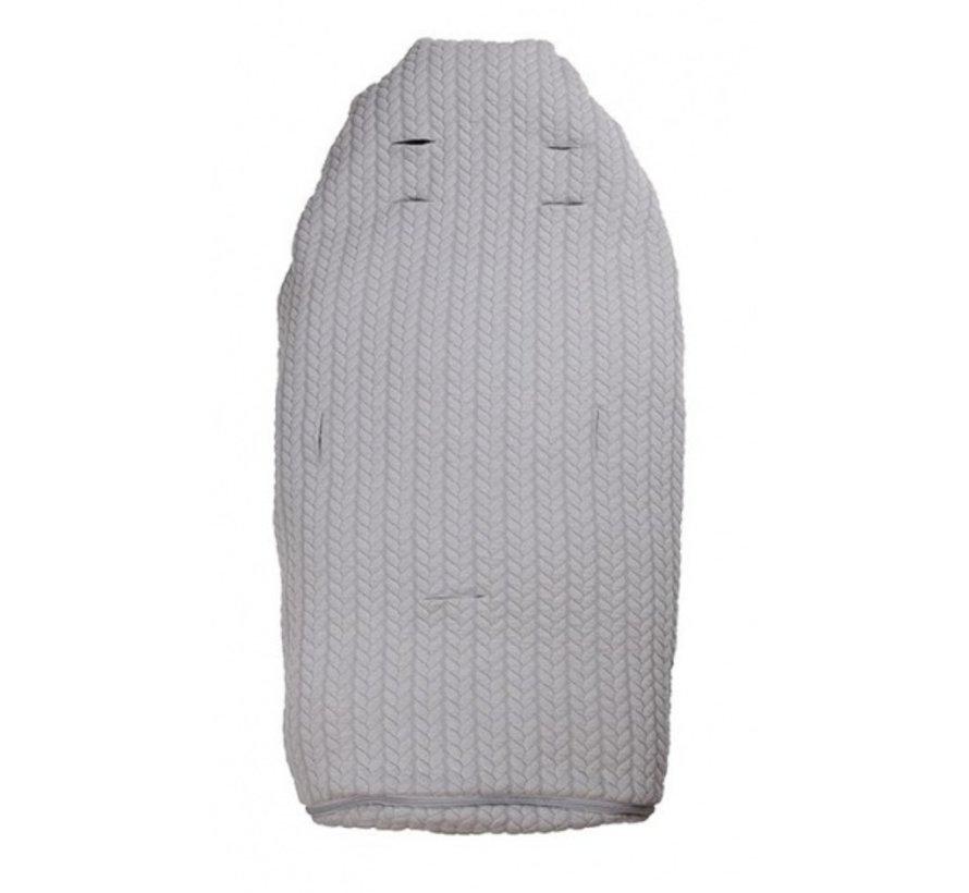 Lite+ voetenzak grijs 98-115 cm