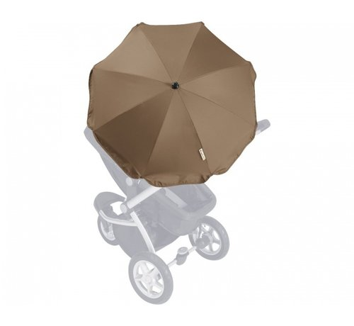 Playshoes Parasol voor kinderwagens set bruin