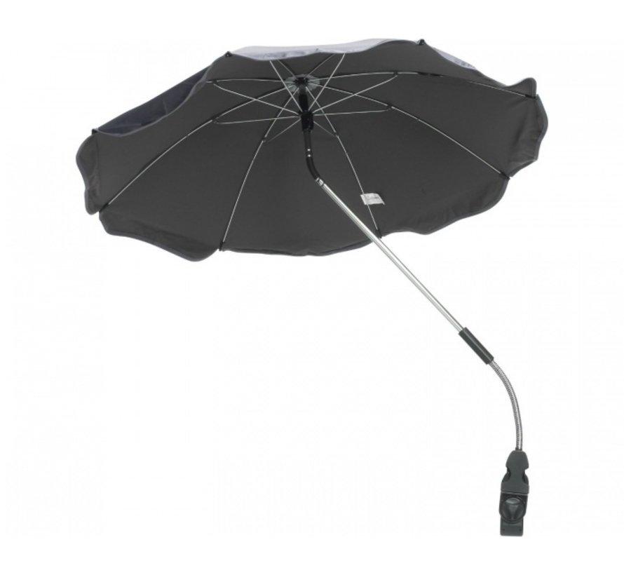 Parasol voor kinderwagens set bruin