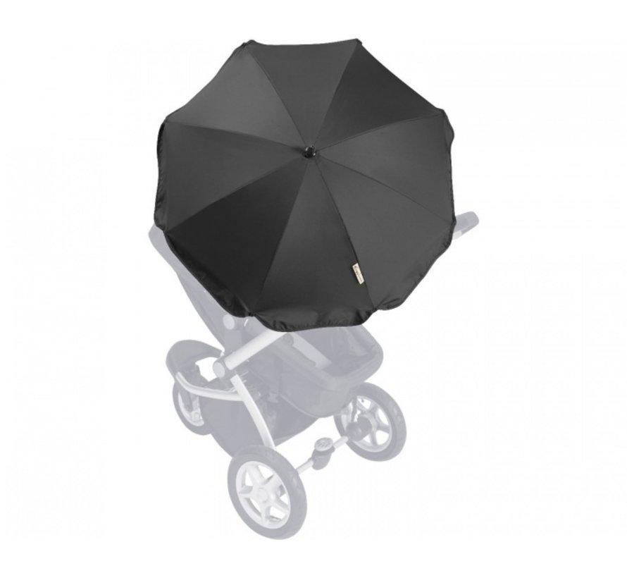 Parasol voor kinderwagens set zwart