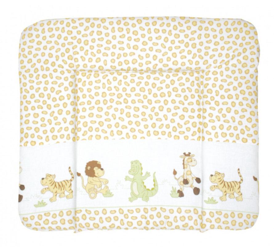 aankleedkussen Safari 85 x 75 cm polykatoen geel