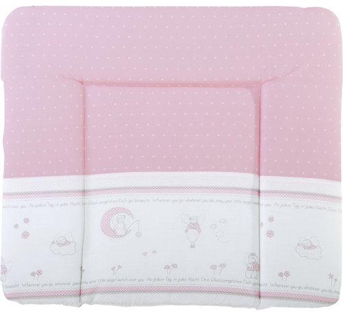 Roba aankleedkussen Geluksengel 85 x 75 cm polykatoen roze