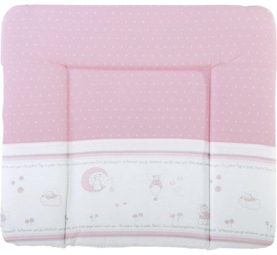 aankleedkussen Geluksengel 85 x 75 cm polykatoen roze