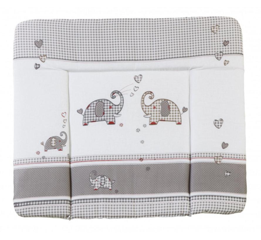 aankleedkussen Jumbotwins 85 x 75 cm polykatoen grijs
