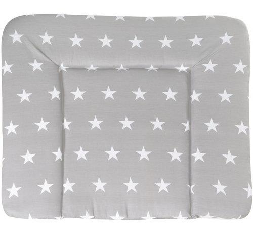 Roba aankleedkussen Little Stars 85 x 75 cm grijs